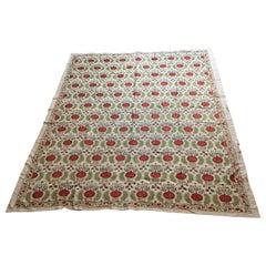 Vintage Embroidery Suzani Textile