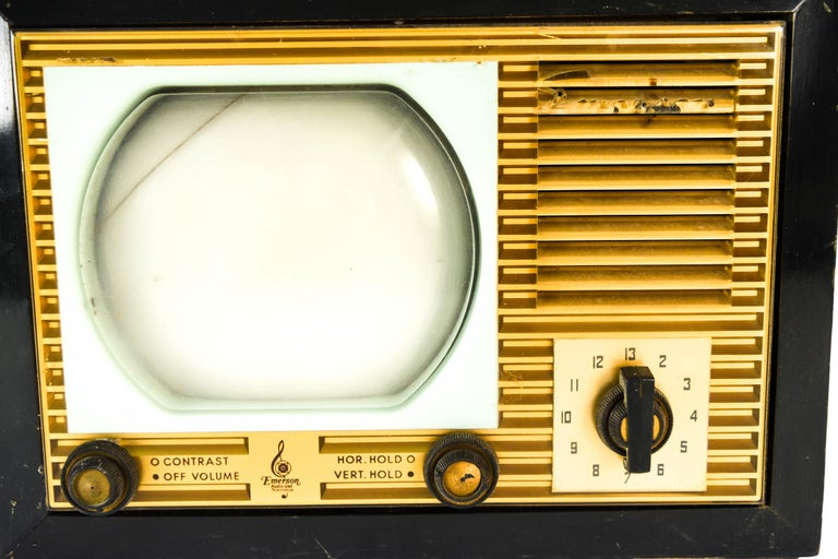 Wood Vintage Emerson TV For Sale