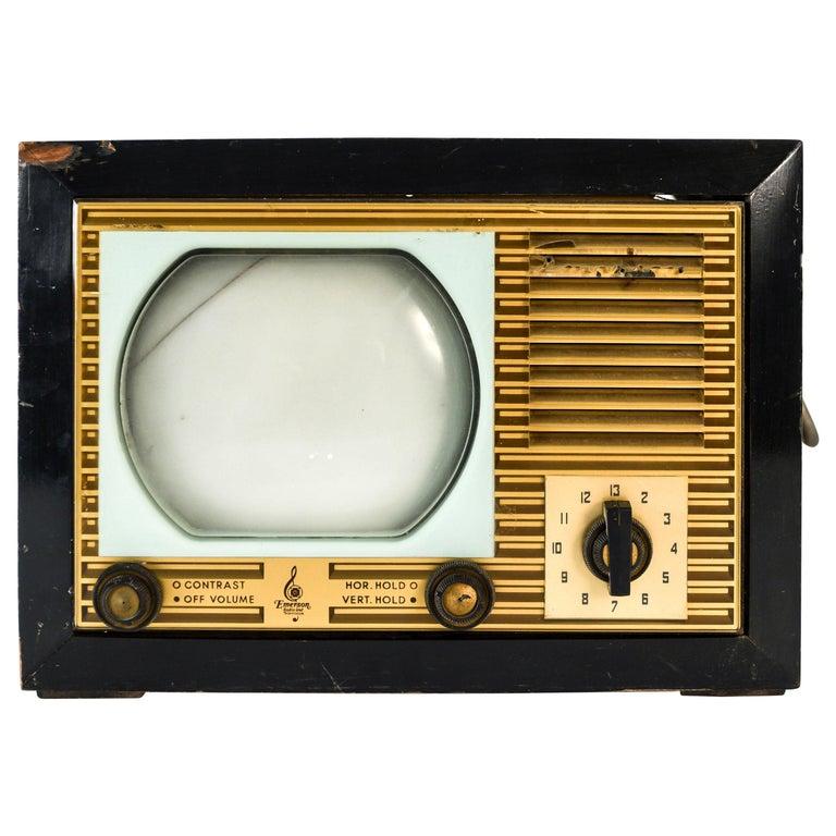 Vintage Emerson TV For Sale