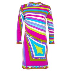 vintage Emilio Pucci 1960s silk jersey signed dress