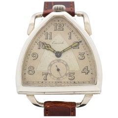 Vintage Emrich Triangular-Shaped Pocket Watch Conversion to Wristwatch, 1930s