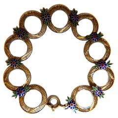Silver Link Bracelets
