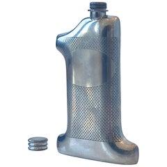 Vintage English '1' Flask