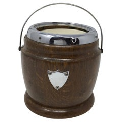 Vintage English Biscuit Barrel