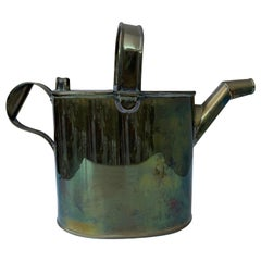 Vintage English Brass Water Bucket