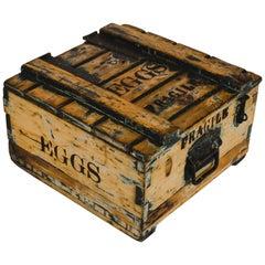 Vintage English Egg Transport Crate