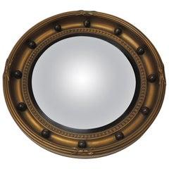 Vintage English Federal Style Bulls Eye Mirror