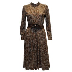 Vintage English Lady Day Dress