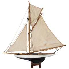 Vintage English Pond Yacht