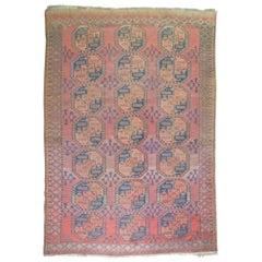 Vintage Ersari Tribal Room Size Rug
