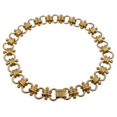 Vintage Erwin Pearl Necklace Choker 1980's