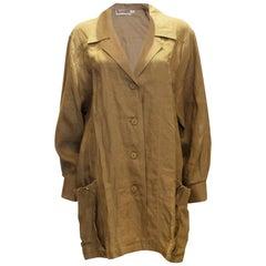 Vintage Escada Linen Overshirt /Jacket