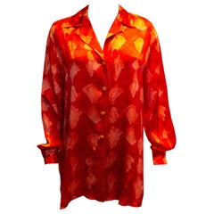 Vintage Escada  Silk Shirt