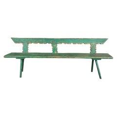 Vintage European Bench