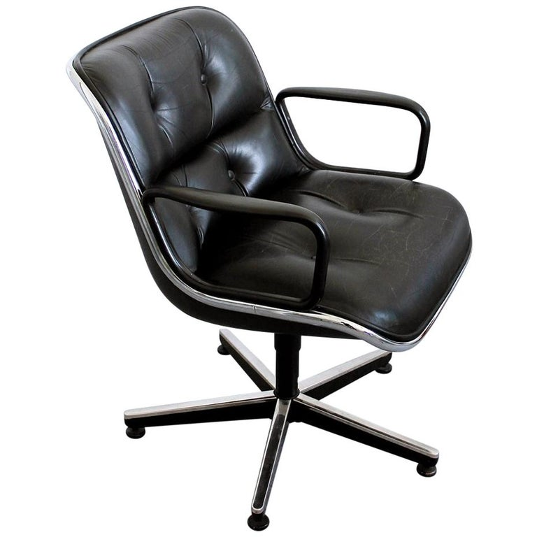 Prime Vintage Executive Swivel Armchair By Charles Pollock For Knoll International Gamerscity Chair Design For Home Gamerscityorg
