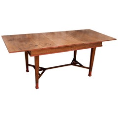 Vintage Extendable Teak Table Java, Early Mid-20th Century
