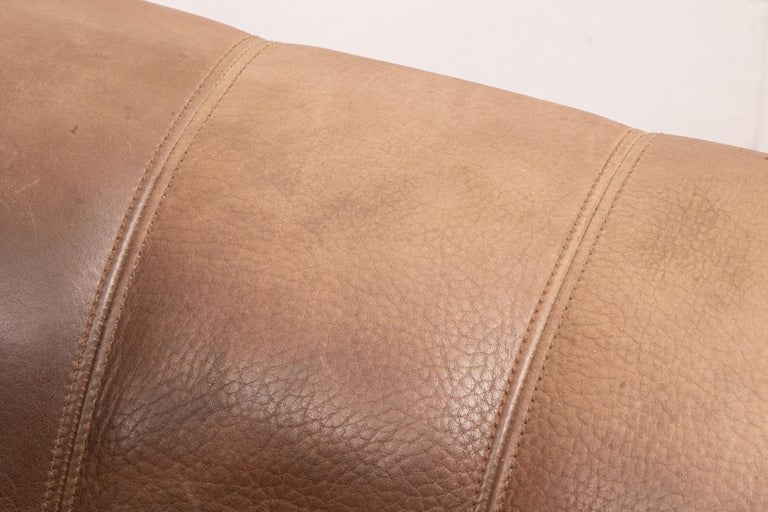Vintage Extending Leather Sofa by De Sede DS44 1