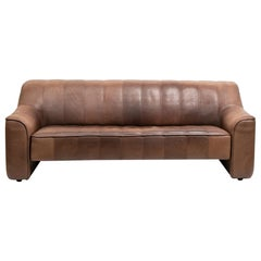 Vintage Extending Leather Sofa by De Sede DS44