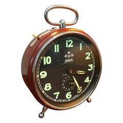 Vintage Extra Large German Wehrle Alarm Clock