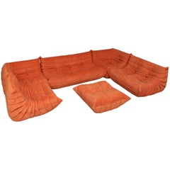 Vintage Extra Large Modular Sofa Ligne Roset FR Model Togo as Good as New Top