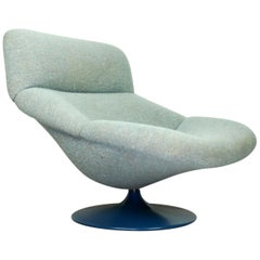 Vintage F518 Lounge Swivel Chair by Geoffrey Harcourt for Artifort, 1970s
