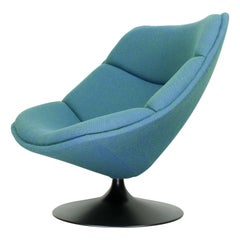 Vintage F557 Lounge Chair by Pierre Paulin for Artifort
