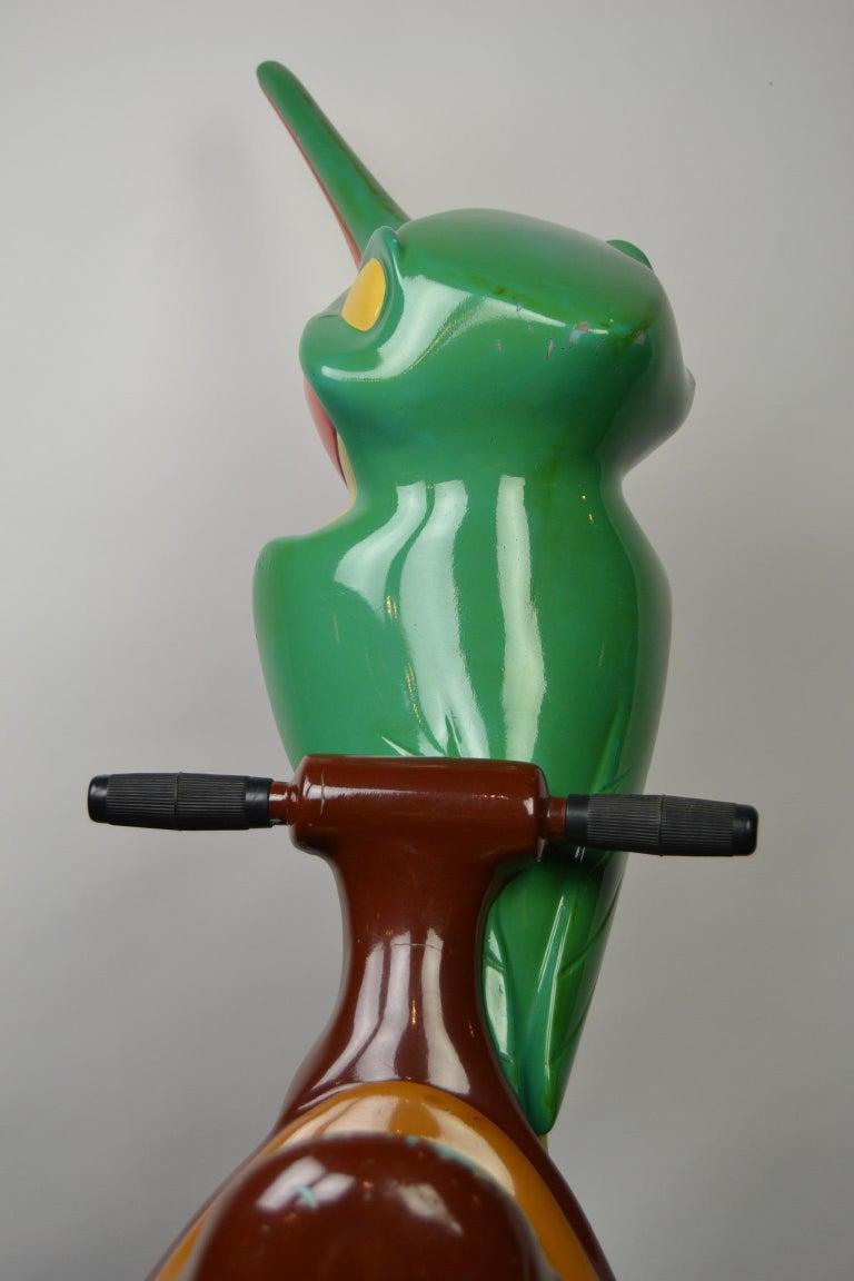 Vintage Fairground Flit the Hummingbird Figurine, Pocahontas, 1990s For Sale 8