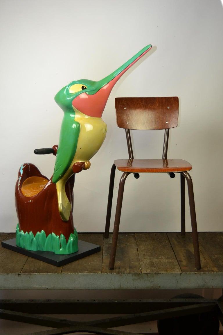 Vintage Fairground Flit the Hummingbird Figurine, Pocahontas, 1990s For Sale 12