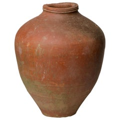 Vintage Farmyard Jar