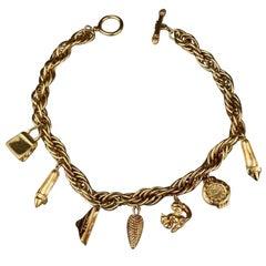 Vintage FENDI Iconic Charm Necklace