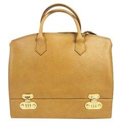 Vintage Fendi Leather Vanity Bag