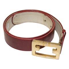 Vintage Ferragamo Leather Belt