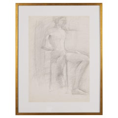Vintage Figure Sketch 'VII', Greece
