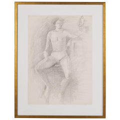 Vintage Figure Sketch 'X', Greece