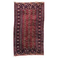 Vintage Fine Boukhara Afghan Rug