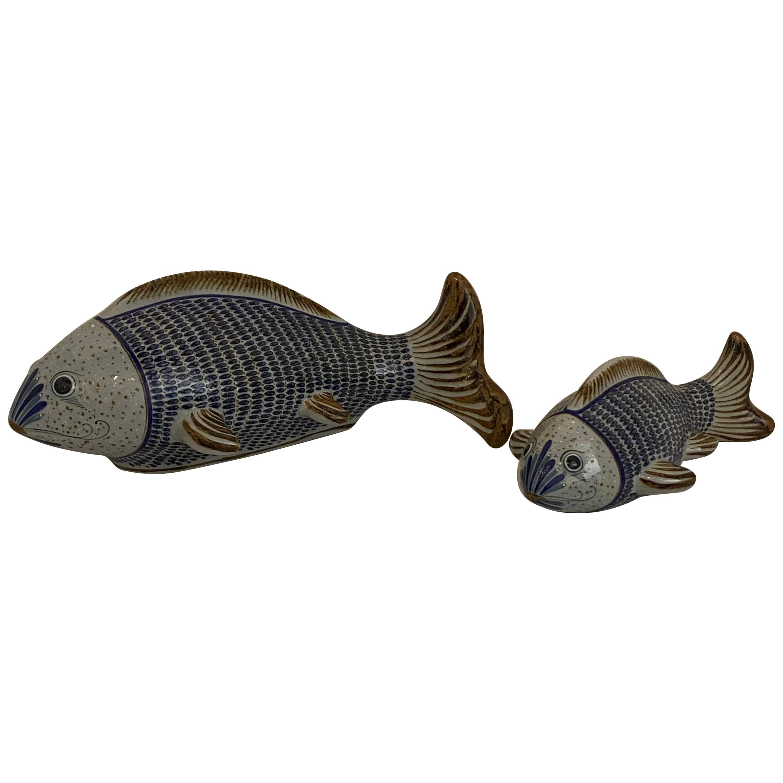 Vintage Fish Sculpture