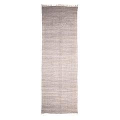 Vintage Flat-Weave Striped Tulu Carpet