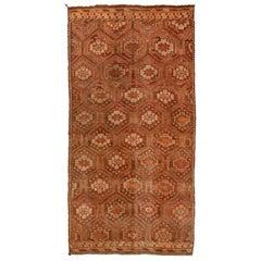 Vintage Flat-Weave Turkish Jajim from Mersin Mut