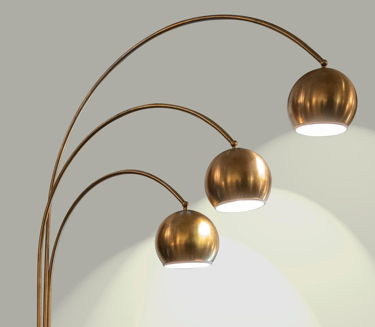 Vintage Floor Lamp by Goffredo Reggiani, 1970s In Good Condition For Sale In Roma, IT