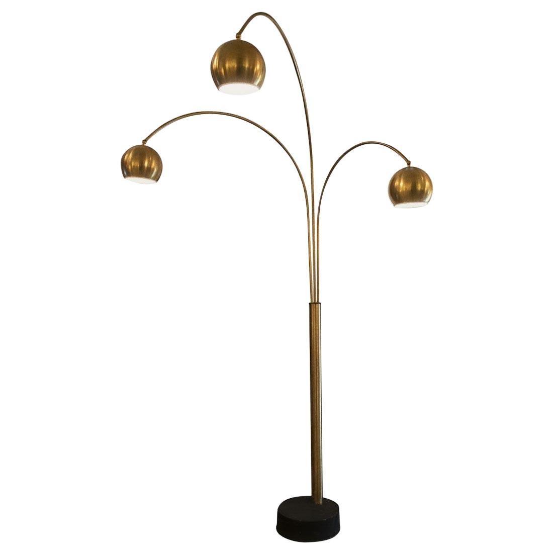 Vintage Floor Lamp by Goffredo Reggiani, 1970s