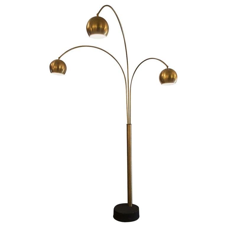 Vintage Floor Lamp by Goffredo Reggiani, 1970s For Sale