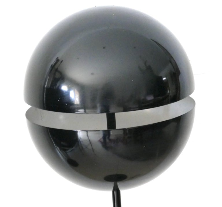 Vintage Floor Metal Lamp, Andrea Modica for Lumess In Good Condition For Sale In Roma, IT