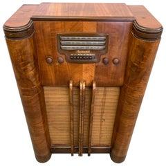 Vintage Floor Radio by Farnsworth Television and Radio Corp