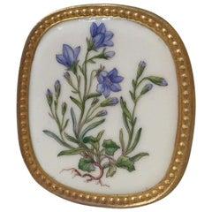 Vintage Flora Danica Brooch, Pendant by Anton Michelsen & Royal Copenhagen