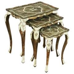 Vintage Florentine Nesting Tables