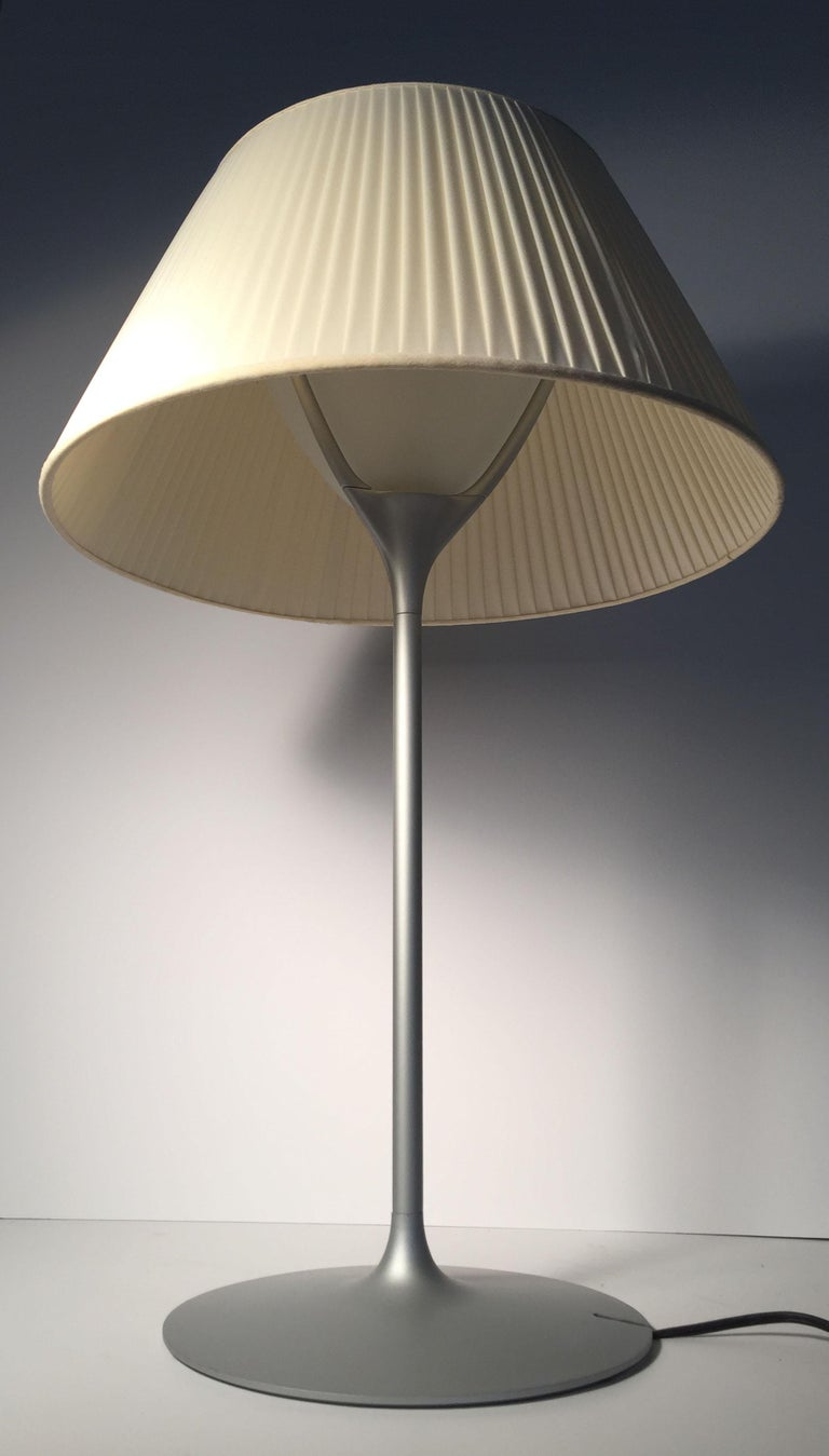 Mid-Century Modern Vintage Flos Romeo Soft 1 Table Lamp by Philippe Starck For Sale
