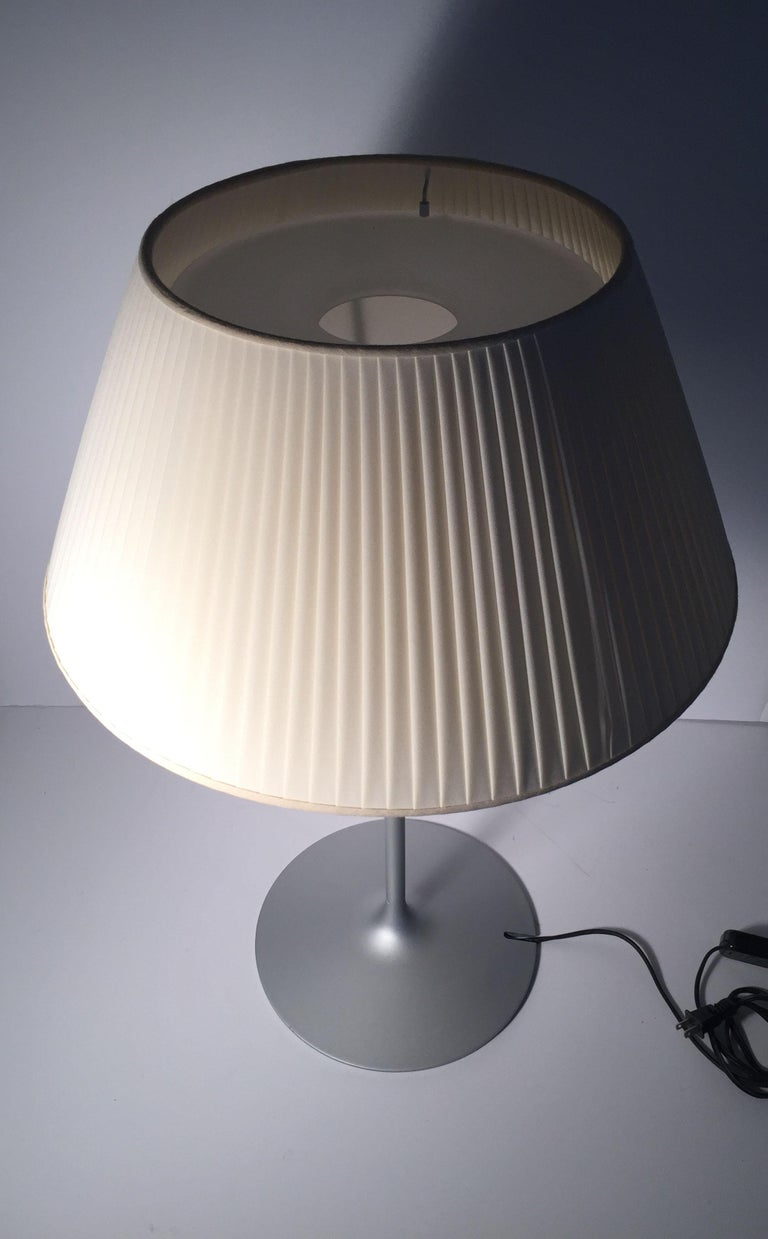 Italian Vintage Flos Romeo Soft 1 Table Lamp by Philippe Starck For Sale