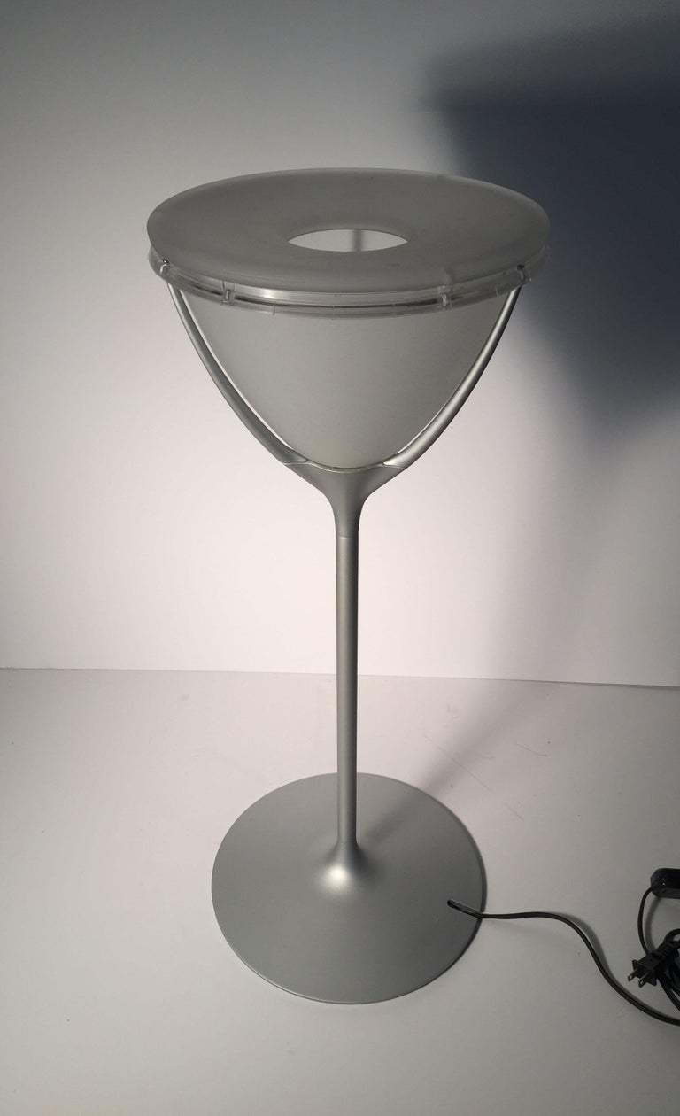 Vintage Flos Romeo Soft 1 Table Lamp by Philippe Starck In Good Condition For Sale In Chicago, IL