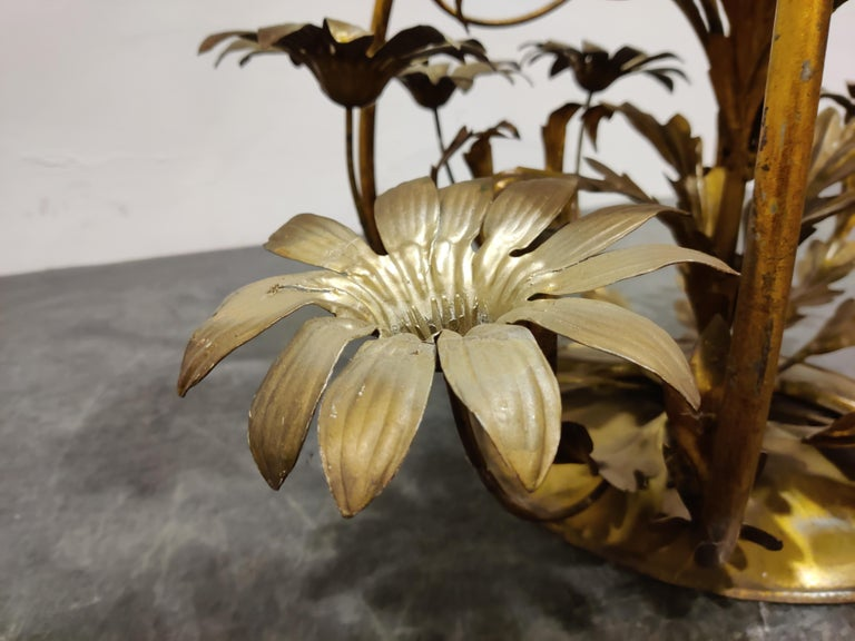 Vintage Flower Coffee Table, Italy, 1960s For Sale 2