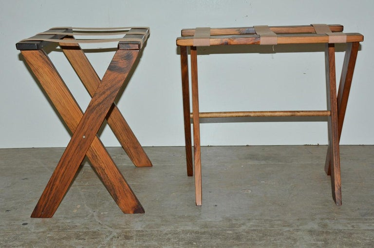 American Vintage Folding Luggage Rack, Sold Singly For Sale